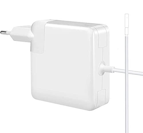 Zasunky Ladegerät Netzteil 60W Mags 1 L-Tip Adapter für MacBook Air, MacBook Pro Ladekabel Power Adapter Ladegerät Kompatibel mit MacBook Pro 11 13 Zoll - 2008, 2009, 2010, 2011,Mitte 2012