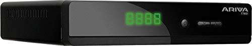 Ferguson Ariva T760i DVB-T/T2 H.265 HEVC MPEG-4 Ricevitore | Full HD 1080P Decoder Terrestre | Mediaplayer, STB, SCART, HDMI, USB, Loop Out, Ethernet, Dolby Digital Plus (E-AC3)