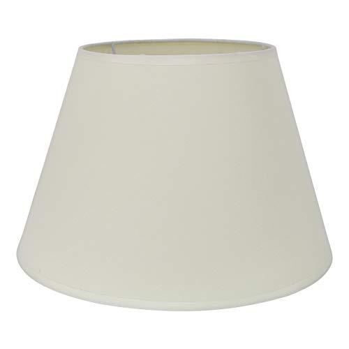 """DULEE Φ 8.7"""" Einfache Tischleuchten Lampenschirm Nachttisch Lampenschirm Wandleuchte Lampenschirme,Beige TC (Top) 15*(Height) 17cm*(Bottom) 22cm"""