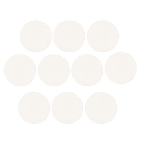 Baoblaze 10x Vidrio Cristal Abovedado Piezas de Recambio para Lente de Reloj - 30mm