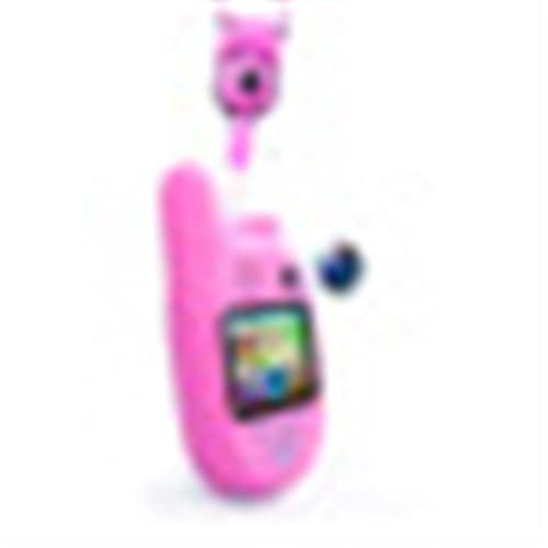 LUBINGT Cámara Digital para Niños 1080p 8,0 Millones de píxeles Cámara Digital Inteligente Walkie Talkie para niños con grabadora de Video Walkie Talkie (Color : 1 Pcs Pink)