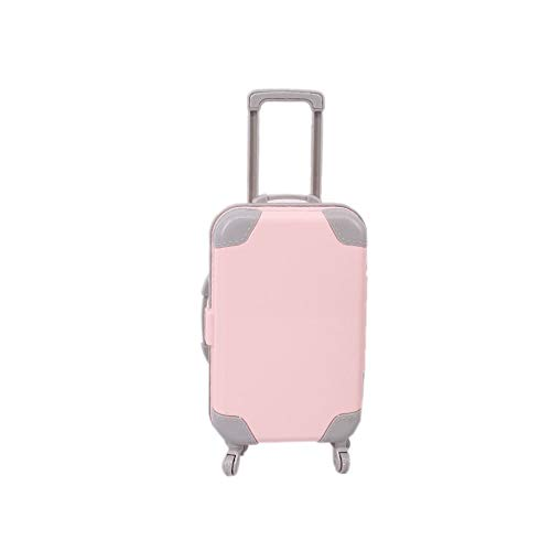XinYiC Doll's Travel Case Plastic Suitcase Storage Doll House Accessories, 1pcs (#C)