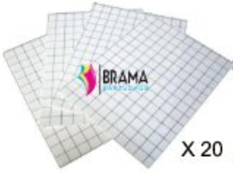 Bramacartuchos – 20 x Schwarze Schwarze Schwarze Blätter Transferpapier für T-Shirts aus Baumwolle für HP Canon Brother Epson B00HDEOXVI   Helle Farben  4097c5