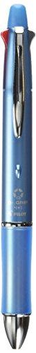 Pilot Mult Function Pen Dr. Grip 4+1, 0.5mm Acro Ink Ballpoint Pen, 0.5mm Mechanical Pencil, Ice Blue (BKHDF1SEF-IL)