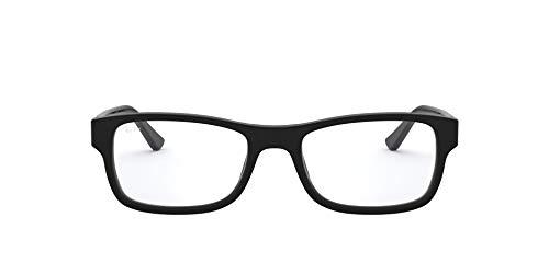 Ray-Ban RX5268 5119 50-17 Rayban RX5268 5119 50-17 Rechteckig Brillengestelle 50, Schwarz
