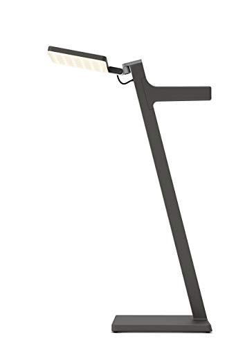 Nimbus Roxxane Leggera 52 CL, Design Tisch-Lampe, akku-betrieben, tragbar, kabellose LED-Stand-Leuchte, touch dimmbar, 800 Lumen, basaltgrau