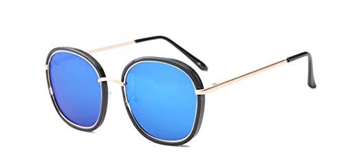 Secuos Moda Gafas De Sol Cuadradas Moda para Mujer, Diseñador De Marca, Gafas De Sol De Aviación Vintage para Mujer, Gafas De Sol para Mujer, Azul
