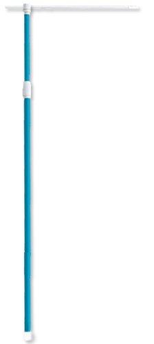 『のぼりポール 水色 20本セット2.4m 2段伸縮 IT524_20set』のトップ画像