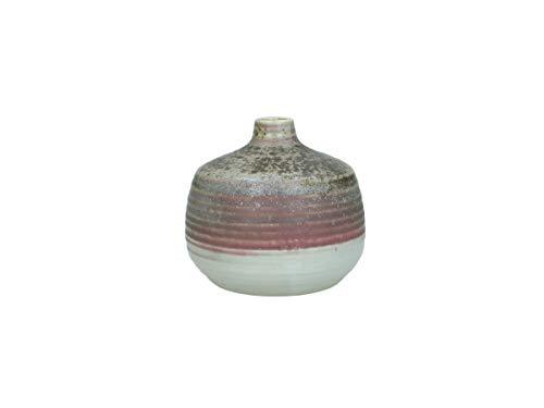 Van Well - Jarrón (cerámica, 12 x 12 x 11 cm)