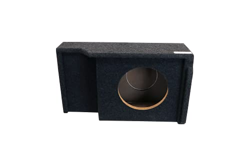 """Bbox A141-10CPV Single 10"""" Vented Carpeted Subwoofer Enclosure - Fits 1999 - 2007 Chevrolet / GMC Silverado / Sierra Extended Cab"""