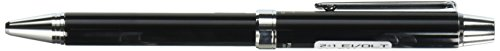 Pilot 2 +1 EVOLT 2 Color 0.7 mm Ballpoint Multi Pen 0.5 mm Mechanical Pencil, Black Body (BTHE-1SR-B)