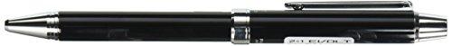 Pilot 2 +1 EVOLT 2 Color 0.7 mm Ballpoint Multi Pen 0.5 mm Mechanical Pencil, Stripe Pink Body