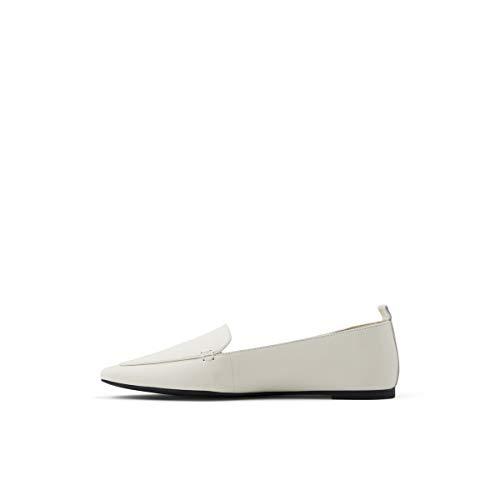 ALDO Women's Orsoniflex Loafer Flat, White, 7