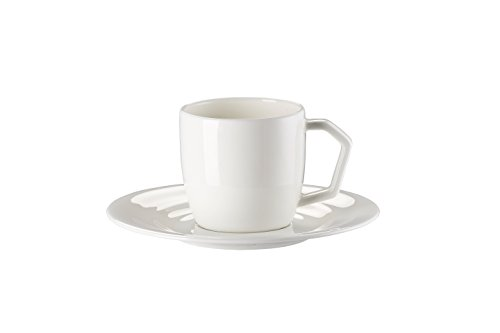 Rosenthal Jade Sphera Weiss Kaffeetasse 2-TLG.