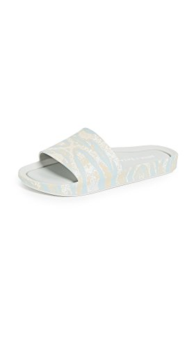 Melissa Shoes X Baja East Beach Slide, Grau (Grau bedruckt), 43 EU
