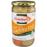 Manischewitz Premium Gold Gefilte Fish with Carrots, 24-ounce (Pack of 2)