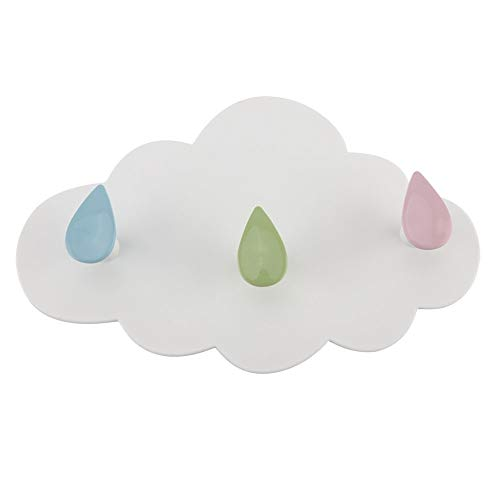KSTEE Cloud Hook Ganchos for Colgar en la Pared Gancho Adhesivo for la decoración de la Cocina del baño
