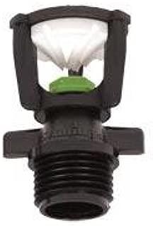 Low Flow Wobbler Sprinkler, Spray Diameter of 35 to 40 Feet, 1/2 Inch Male Pipe Thread