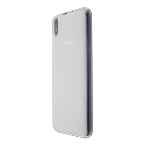 caseroxx TPU-Hülle für Archos Access 57, Handy Hülle Tasche (TPU-Hülle in weiß-transparent)