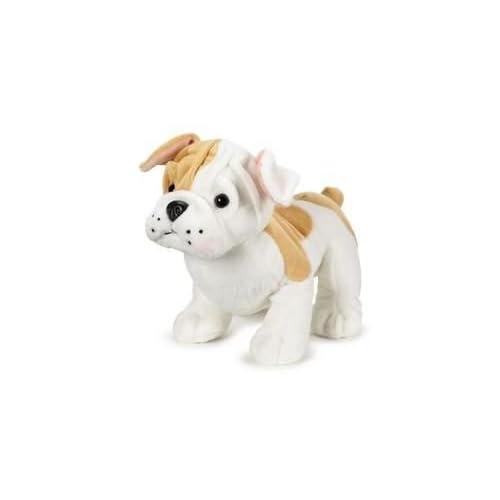 Amazon Com Webkinz Bulldog Puppy 8 5 Plush Toys Games