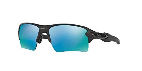 Product Image 1: Oakley 009188 Flak 2.0 XL Sunglasses with Accessories Bundle (Matte Black/Prizm Deep H2O Polarized (918858)