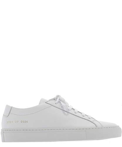 COMMON PROJECTS Luxury Fashion Damen 37010506 Weiss Leder Sneakers | Jahreszeit Permanent