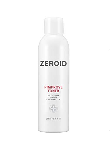 ZEROID Pimprove Toner Balanced Care for Oily & Troubled Skin (200 mL)