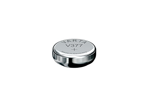 10x VARTA Knopfzelle V377 / SR66 / 606 / 280-39 / D377 / 377 / SR626W