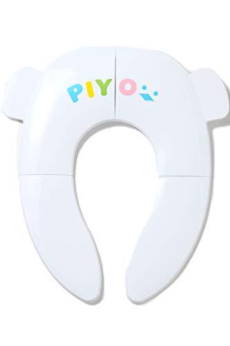 ピヨ(PIYO)補助便座折りたたみ子供携帯幼児幼児用便座トレーニング子供用補助便座おまるベビー(ホワイト)