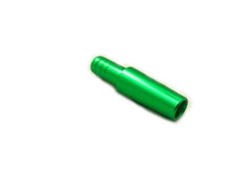 Adaptador de manguera Shisha | Conector Adaptador De Cachimbas | Extremo de la manguera de metal, verde