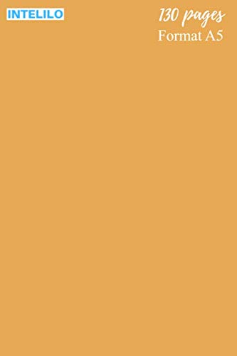 """Cahier en Blond vénitien (cheveux): 130 pages, Format A5 de 15,24 x 22,86 cm (6"""" po x 9"""" po), réglure Seyès et grands carreaux en blanc et noir avec ... étudiant, élève, école et université"""