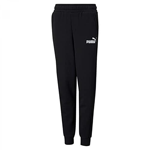 PUMHB #Puma Ess Logo Pants TR Cl B, Pantaloni Tuta Bambino, Puma Black, 110