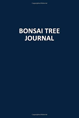 Bonsai Tree Journal: Blank, Lined Notebook (Softcover)