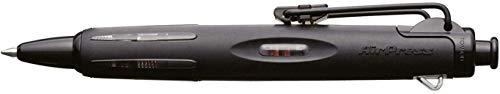 Tombow BC-AP12 Stylo-bille AirPress, entièrement noir