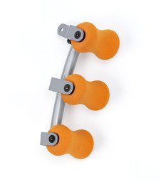 Ab Doer Triroller mit Dreifach-Massagefunktion Tri Roller + Ebook Super ich bin Fit