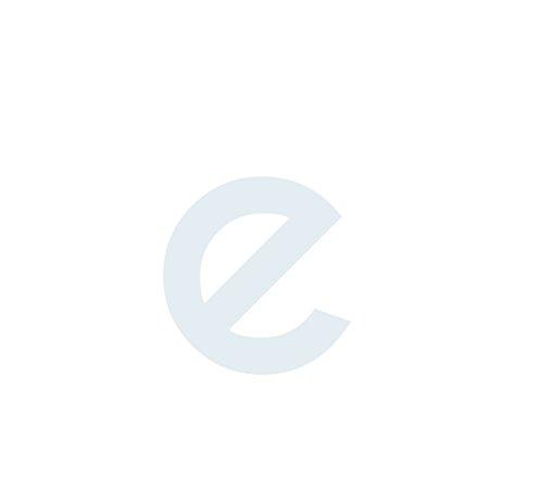 1peak Buchstaben Aufkleber, wetterfest, einzelner Buchstabe e, weiß, mittel (passend für unsere 5cm Serie) kleingeschrieben, 3,5cm hoch