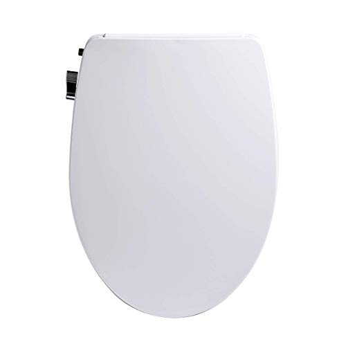 Bio Bidet Slim Zero-Non Electric Bidet Seat for Elongated Toilet, Dual...
