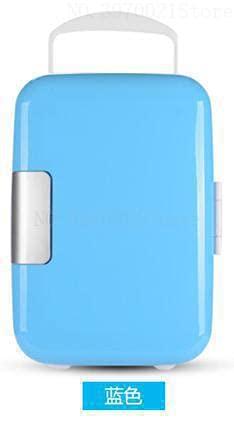 WEI-LUONG Mini Nevera 4l Electric Coche Refrigerador Coche Casa Dual Uso Mini Máquina de refrigeración Material Caja de Seguridad Frigorífico portátil USB Congelador