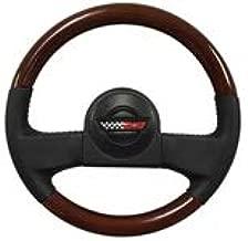 1986-1989 C4 Corvette Leather/Mahogany Wood Steering Wheel Kit | 9768988