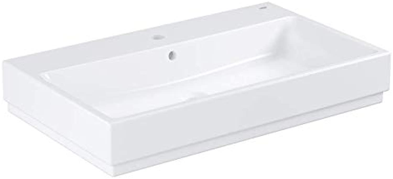 Grohe Waschtisch Cube Keramik 39469 80cm PureGuard alpinwei, 3946900H