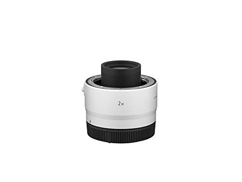 Canon Objektiv Extender RF 2X - für Canon RF Objektive (2-fache Brennweiten-Verlängerung, für RF-Bajonett optimiertes Linsendesign), hellgrau