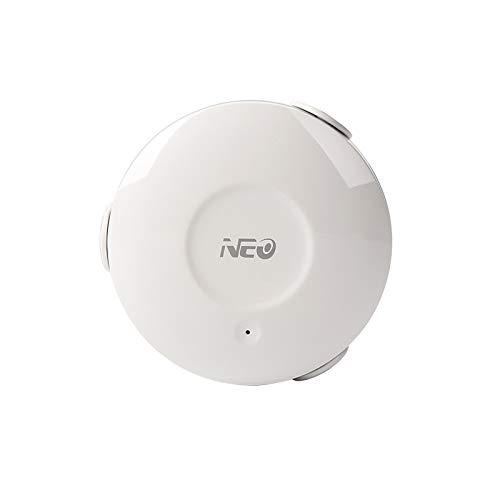 NEO Wi-Fi Flood Water Sensor Rilevamento perdite d acqua Avvisi APP