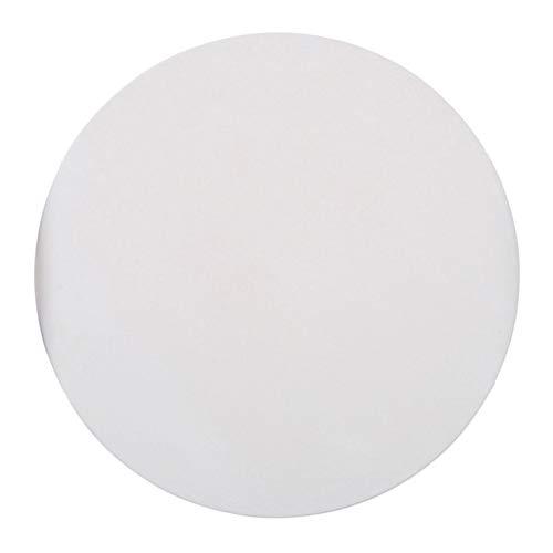 Hemoton Piedra de Pizza Práctica de Alta Resistencia a La Temperatura Molde para Hornear Piedra para Horno de Pan Y Parrilla de Barbacoa (Blanco)