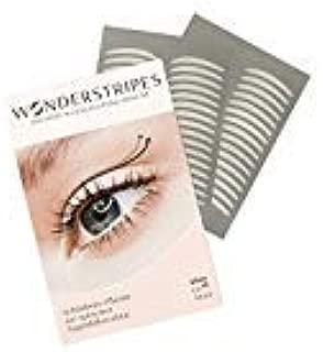 Wonderstripes Eye Lid Lifting Strips, Upper Eye Lift Tape- Invisible- Size Large 60 Strips