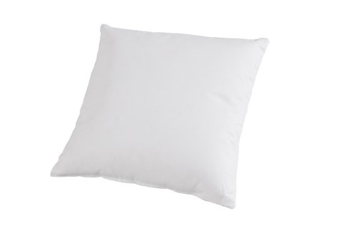 Böhmerwald Kissen, allergikergeeignet, 100% Polyester-Faserbällchen, 40x40 cm, Weiß