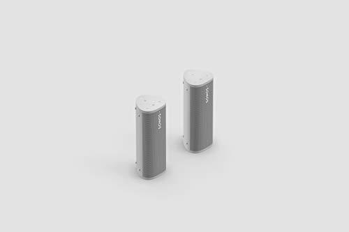 Sonos Roam - 2er Set weiß   Wasserdichter WLAN & Bluetooth Lautsprecher mit...