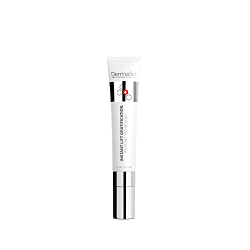 DermaSet Instant Face Lift - Best Eye and Face Tightening, Instantly Lifting Natural Product with Peptides. Naturally Firming and Smoothening Product for Loose Skin, Puffines, Fine and Fine Lines within a minute