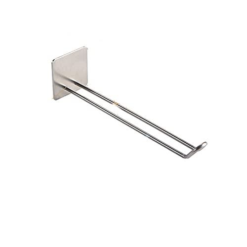 Zay Luay 304 Stainless Steel Hanger Storage Artifact Organizer Balcony Hanger Hanger Hook Wall Shelf Free Perforation Wall-mounted Hardware Accessories (Color : D)