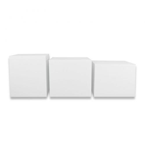 Fränkische Schlafmanufaktur Stufenlagerungswürfel, Bandscheibenwürfel, Lagerungswürfel, ca. 50x45x40