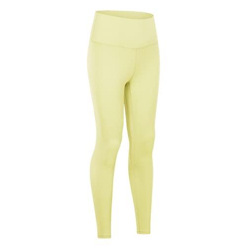 QTJY Pantalones de Yoga de Cintura Alta para Mujer, Leggings, Pantalones de Fitness al Aire Libre, Pantalones Deportivos elásticos de Secado rápido, Pantalones de Yoga AL